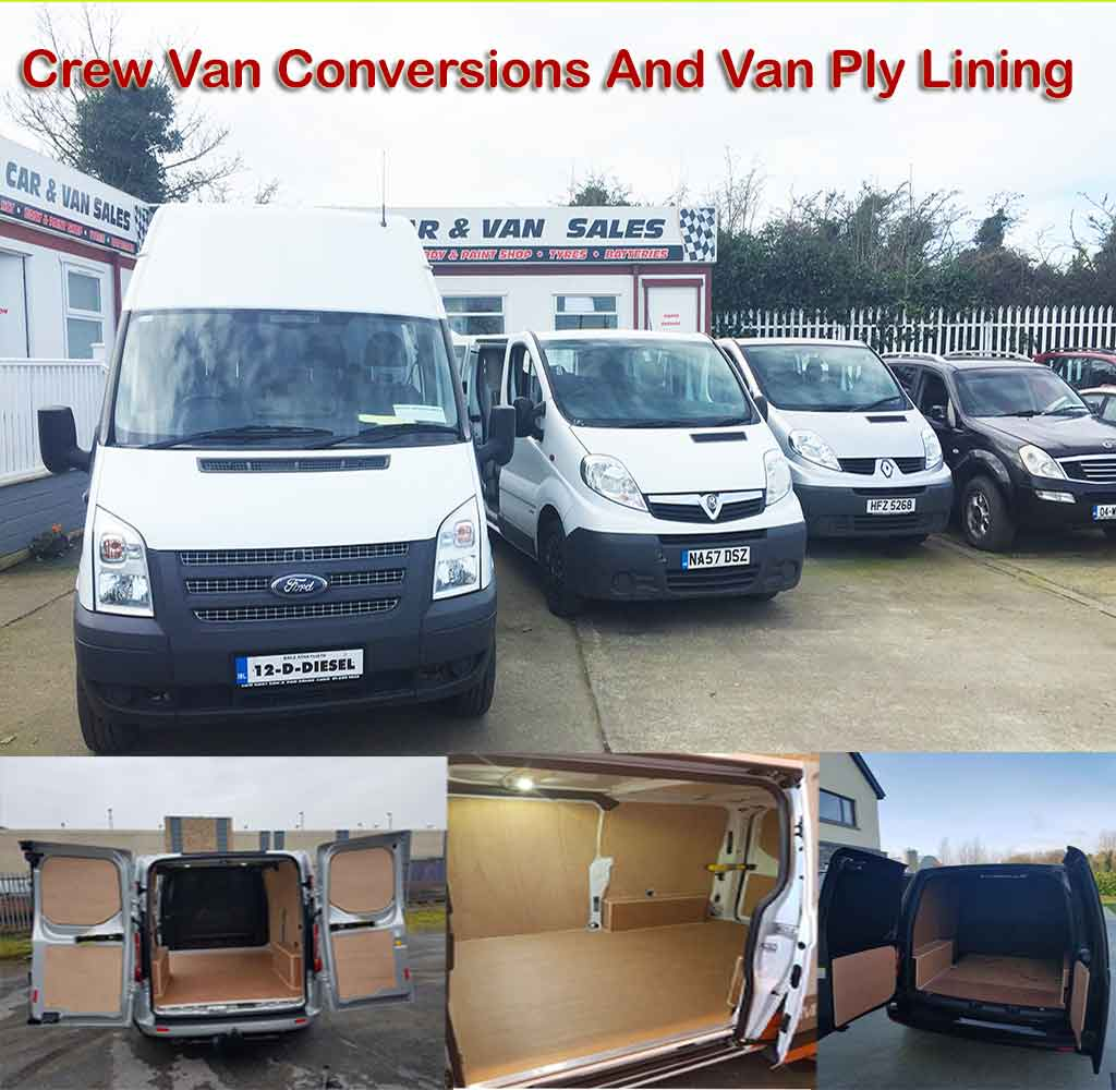 Commercial And Crewcab Conversion Service