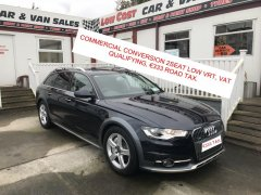 Audi A6 Commercial Conversion