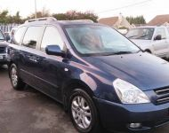 kia Carnival ( UK Sedona)  Crewcab Conversion 2007