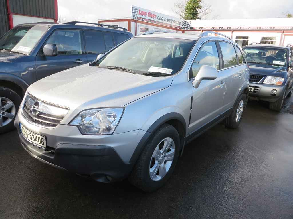 08 Opel Antara 2 seat commercial conversion