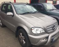 Mercedes ML270 2001 - 2006 Crewcab