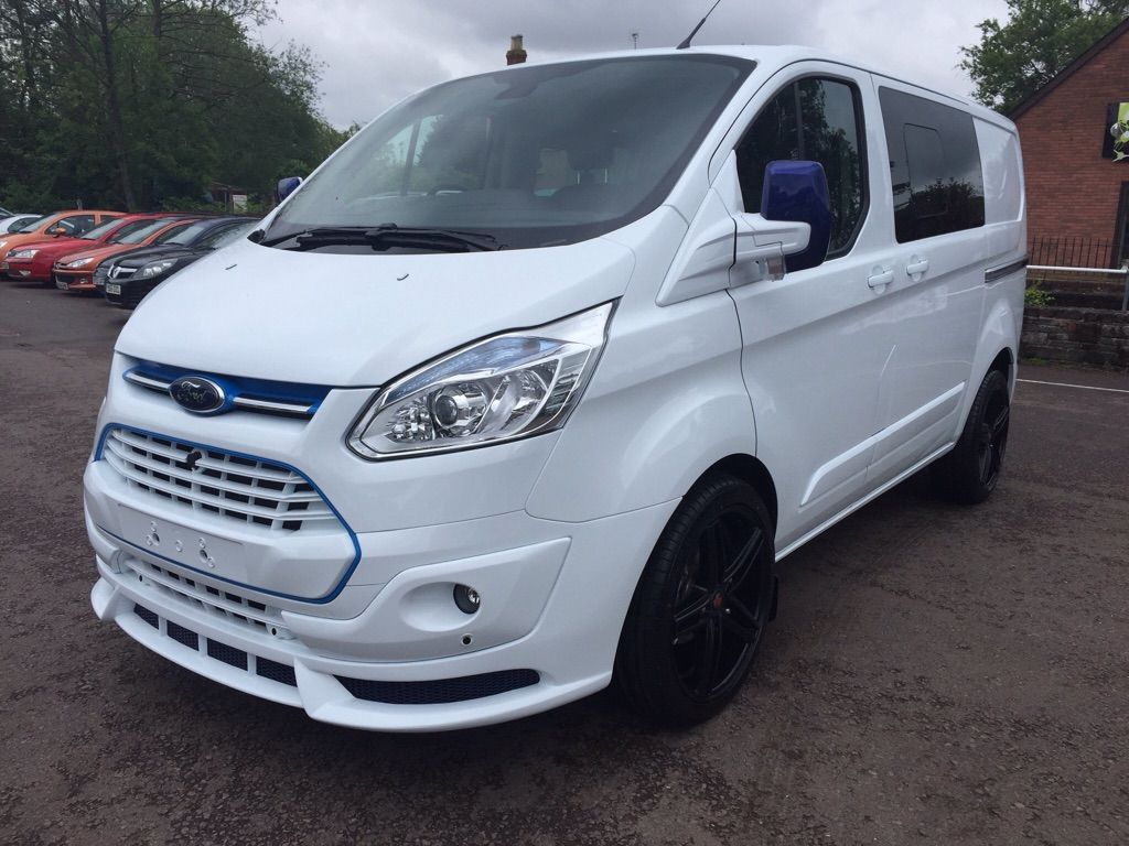 Ford Transit Custom Crew Van Conversion