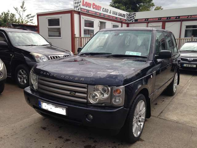 Crewcab Range Rover vogue 2003