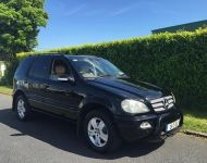 Mercedes ML270 2001-2006 (7 SEATER ONLY) crewcab conversions
