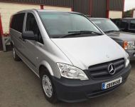 Mercedes 2012 9 Seat Mini-Bus converted to 6 seat Crewcab